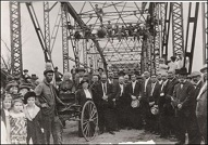 Iron Bridge Dedication Day 1915 image
